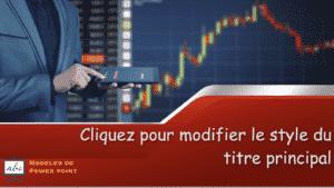 modele pptx d'un marche financier