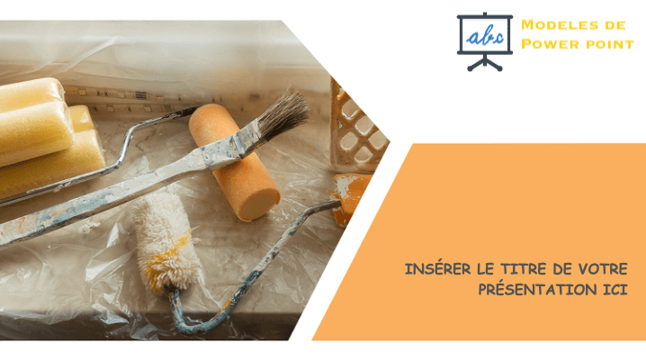 outils maison - modele powerpoint
