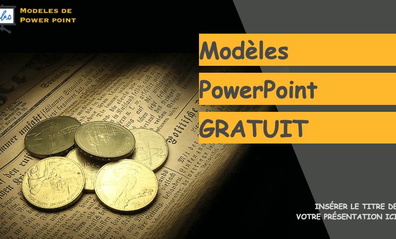 modele powerpoint d'exemple avec un style pour gagner de l'argent
