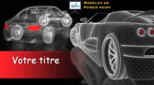 conception d'une voiture en 3D - exemples powerpoint